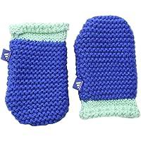 Adidas Inf Mittens - Mitones para niño, Color Azul/Verde / Blanco, Talla XS