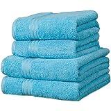 Linens Limited Supreme - Toalla de baño grande (algodón egipcio, 500 g/m2), color azul