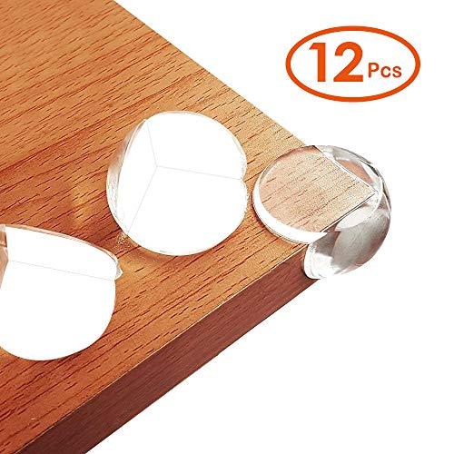 LATTCURE Eckenschutz 12 Stück Kantenschutz für Tisch und Möbel Ecken Kindersicherungsausrüstung...