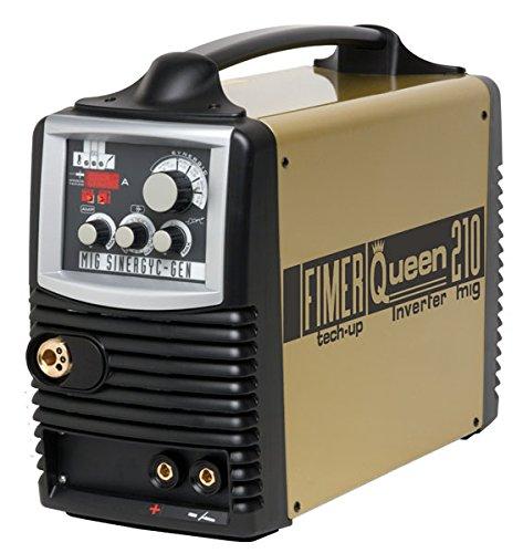 MIG/MAG/Fimer elettrodo inverter-saldatrice/WIG sinergica Queen 210 A Franco destino
