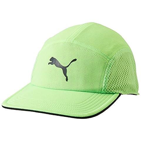 Puma P-Disc-Fit Runner Cap - green gecko, Größe:ADULT
