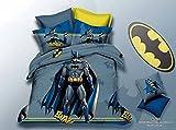 5D Batman Super Hero Characters BedSheet...