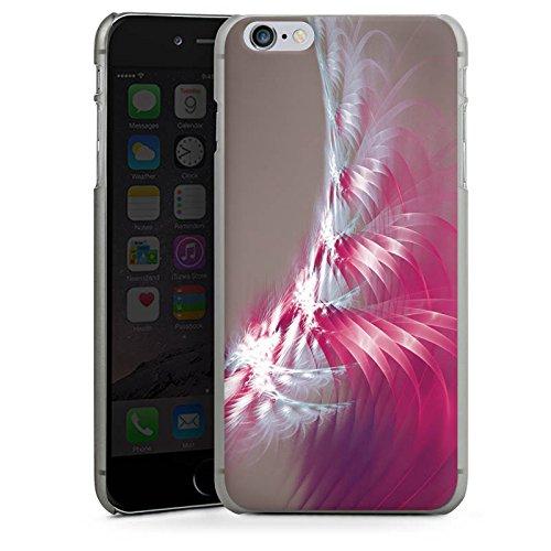 Apple iPhone X Silikon Hülle Case Schutzhülle Muster Licht Spirale Hard Case anthrazit-klar