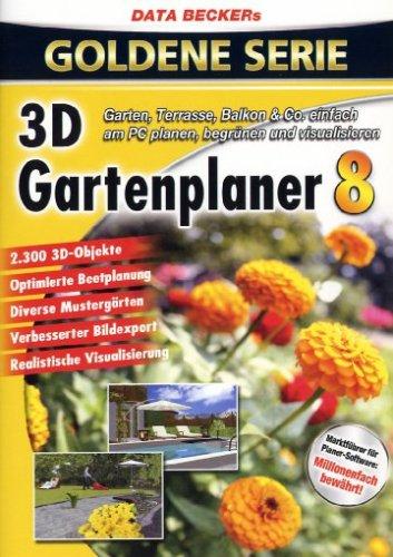 3D Garten Planer 8 (DVD-ROM) (Garten 3d)