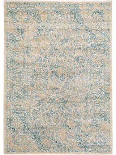 Benuta Vintage Teppich im Used-Look, Kunstfaser, Cream, 160 x 230.0 x 2 cm