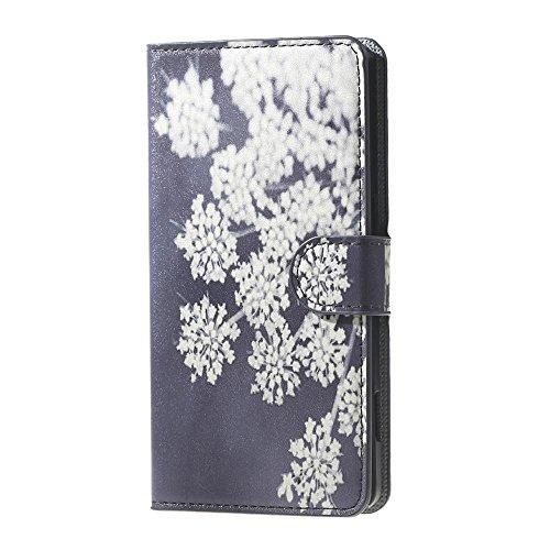 DETUOSI Doogee X5 Pro Hülle,Flip Case Cover Lederhülle für Doogee X5/X5 Pro Smartphone Hülle mit Kartenfach
