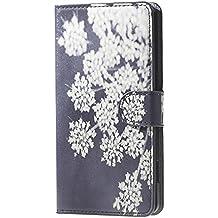 Carcasa para Doogee X5 Pro,PU Cuero Protección Flip Case Cover para el Doogee X5/X5 Pro Funda de Piel con bolsillo de tarjeta