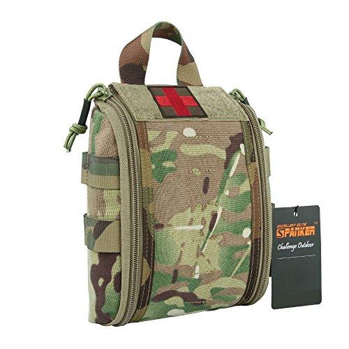 EXCELLENT ELITE SPANKER Taktisch Molle Hilfe Tasche Emergency Medical Pack Nylon(Camouflage)
