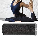 Gravere Rullo in Schiuma Tonda Ad Alta Densità, Colonna per Yoga in EPP per Massaggio alla Schiena per Trigger Muscolare, Massaggio Yoga Nero 5,3 15 Cm workable