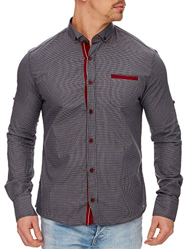 Tazzio - Chemise casual - Homme Anthracite