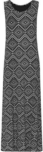 new-plus-size-ladies-long-maxi-dress-womens-black-white-sleeveless-14-28-26-28