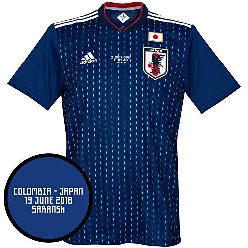 Player Print - adidas Performance Japan Home Trikot 2018 2019 inkl vs Kolumbien WM Druck - XXL