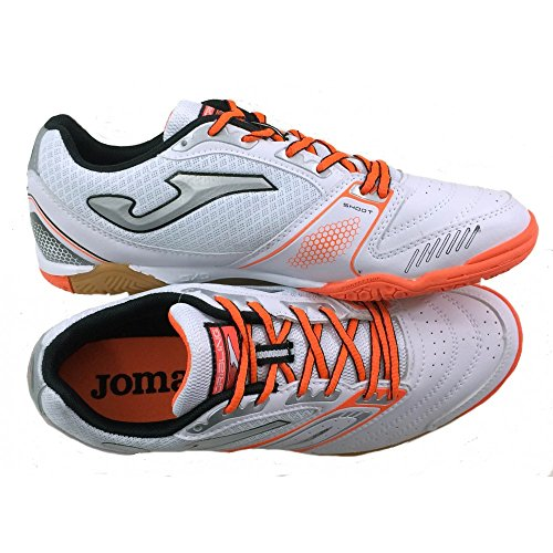 JOMA Chaussures de Futsal DRIBLING 522 WHITE INDOOR Bianco