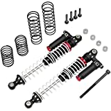 LaDicha 1 Set Hot Racing Td100Rv02 Aluminum 100Mm Piggyback Shock Absorber W/Adjustable Rebound