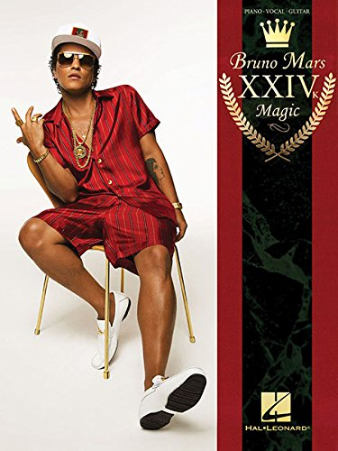 Bruno Mars: 24K Magic - PVG (Pianovocalguitar a) por Hal Leonard Publishing Corporation