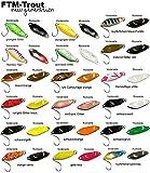 FTM Spoon Strike 2,1g - Blinker zum Spinnfischen auf Forelle, Forellenblinker zum Angeln am Forellensee, Forellenköder
