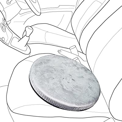 Starling Auto's Rotating Swivel Seat Pad Cushion - An Aid For Mobility In The Car, At Home Or In The Office