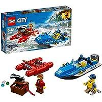 LEGO - 60176 - City - Jeu de Construction - l'Arrestation en Hors - Bord