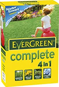 EverGreen 80sqm Complete Lawn Food/ Weed/ Moss Killer Carton