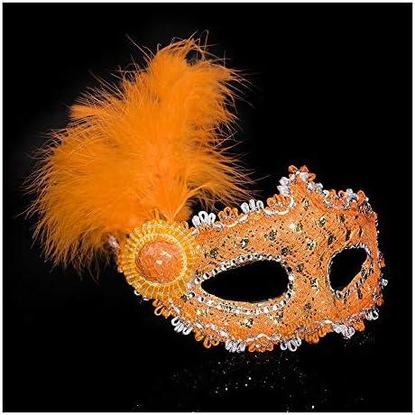 SCLMJ Festa in Maschera di Halloween Maschera di Piume Decorazione Decorazione Decorazione di metà Maschera Costume Party, Arancione B07J2GZ1QY Parent | Intelligente e pratico  | Bella arte  | Acquista  | Intelligente e pratico  1a1463