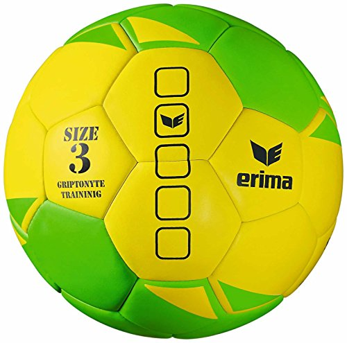 Erima Ball Griptonyte Training, Gelb/Green, 3, 720625