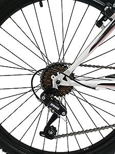'Discovery dp071Herren Fahrrad MTB Mountainbike 26b.t.t. mit Dämpfung. Veränderung Reibung, 18Gang. by Discovery