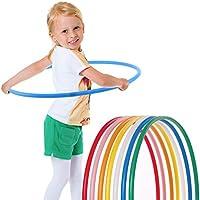 Hoopomania Aro para niños, infantil, Hula Hoop, azul, 60 cm