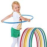 hoopomania - Aro para niños, Infantil, Hula Hoop, Azul, 60 cm