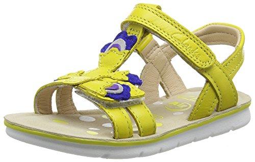 Clarks MimoGracie Inf, Mädchen Knöchelriemchen Sandalen, Gelb (Yellow Leather), 29 EU (11 Kinder UK)