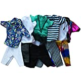 #5: Ocamo Fashion Casual Wear Doll Clothes Tops Pants Outfit for Barbie's Boy Friend Ken Doll