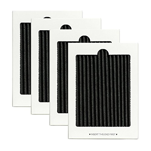 TeKeHom 4 Stück Kühlschrank Carbon Air Filter Ersatz-Kühlschrank Air Filter für Electrolux eafcbf Pure Advantage Kühlschrank Air Filter - Pure Advantage Air
