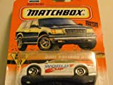MATCHBOX CAR - France 98' - WORLD CUP (Soccer) - Opel Calibra DTM - 1:64 Scale - #65 of 75 / Series 9 by Matchbox