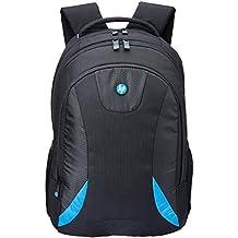 HP Polyester 24 Ltr Black Premium Laptop Bag (Keer)