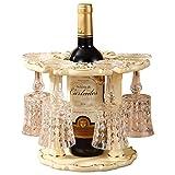YAN Europäische Weinregale Ornamente Kreative Home Wohnzimmer Schränke Moderne Minimalistische Personalisierte Luxus Einrichtungsgegenstände Weinregal
