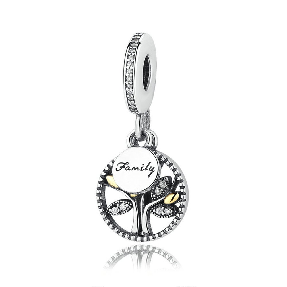 efa1a998c997ab Family Heritage Dangle Charm in argento Sterling 925 ciondoli ...