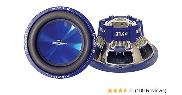 Pyle PLBW84 Blue Wave 8-Inch 600-Watt High-powered Subwoofer 600 Watts