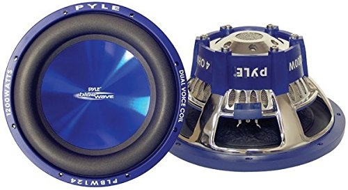 Pyle PLBW84 600W Blue Wave Hochleistungs-Subwoofer 8 Zoll Pyle Blue Dual-subwoofer