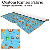 Safari Design Digital Print DIM Out Stoff Material