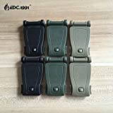6pcs Strong Clip Buckles Molle System Bag Backpack Connecter Kits Camping Hiking EDC