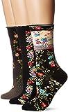 Ozone Women's Novelty Crew Socks 3 Pack,...
