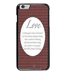 PrintDhaba Quote D-2900 Back Case Cover for APPLE IPHONE 6 PLUS (Multi-Coloured)