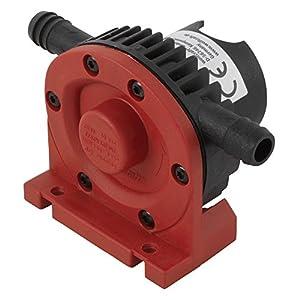 wolfcraft Bohrmaschinen Pumpe mit Kunststoffgehäuse 2202000 | Selbstansaugende Wasserpumpe mit leistungsstarken 1300 l/h - ideal für Haushalt oder Garten
