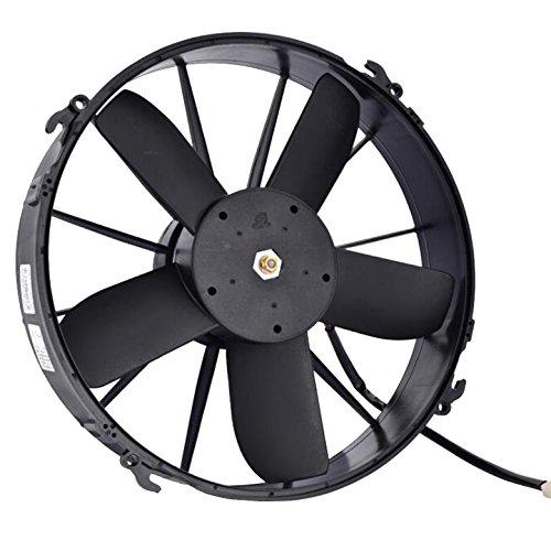 24V 7A alto rendimiento aire acondicionado condensación Radiador de refrigeración ventilador Push...