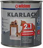 Wilckens 2-in-1 Klarlack seidenmatt, 375 ml 12400000030