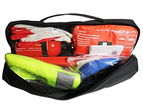 EJP-Bag Praktisches Erste-Hilfe-Set (Notfall-Set). Kofferraumtasche Passend für Accent