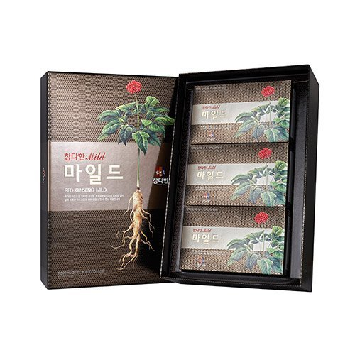 Chamdahan Korean Schwarz Roter Ginseng Mild (50 ml × 30 Beutel)
