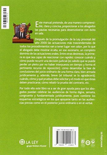 Manual de actuaciones en Sala. Técnicas prácticas del proceso civil (2ª ed.- 201 leer libros online gratis