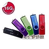 Best Clé USB - Lot de 5 Clé USB 16 Go ENUODA Review