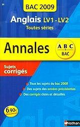 ANNAL 09 ABC SUJ COR ANGLAIS