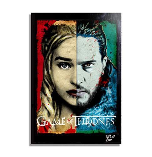Arthole.it Daenerys Targaryen e Jon Snow da Il Trono di Spade (Game of...